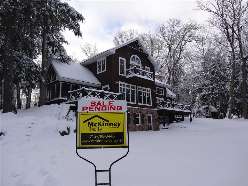 Beautiful Lake Home on Namekagon Sells