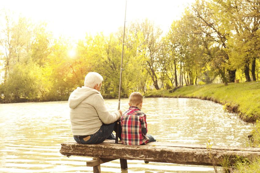 fishing in lake namekagon