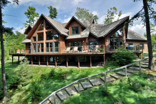 beautiful vacation home in cable, wi