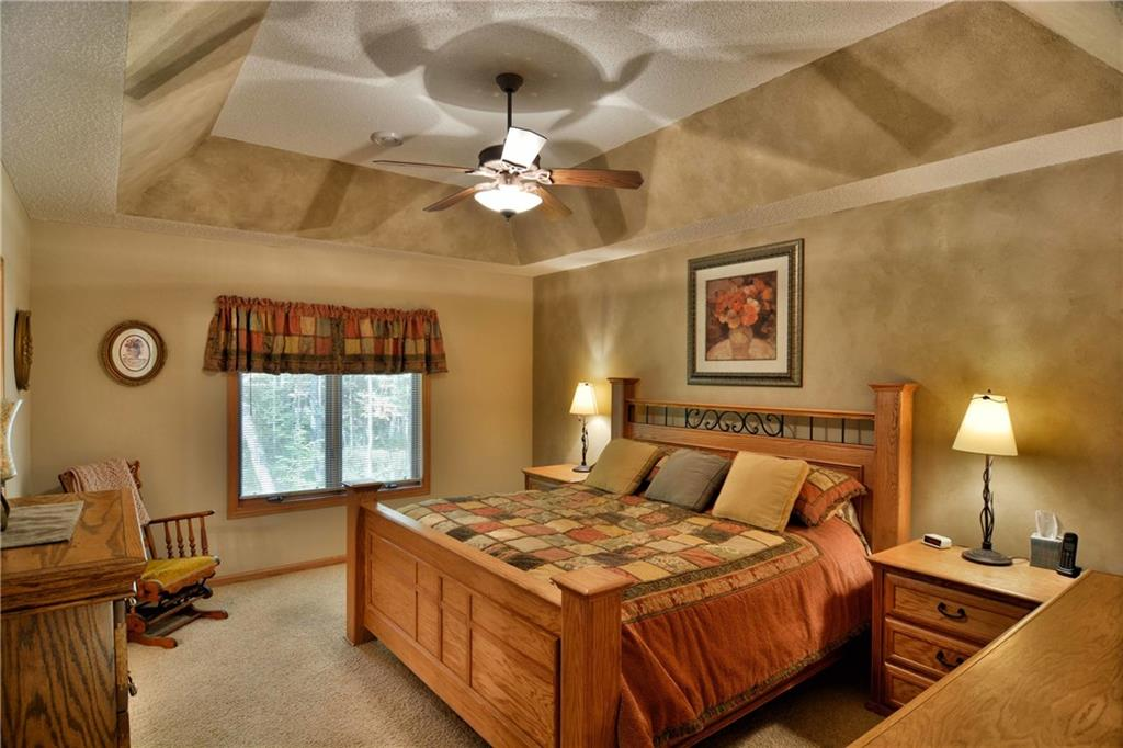 luxurious and spacious master suite