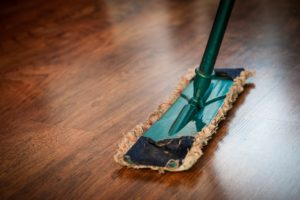 deep cleaning a vacation rental property