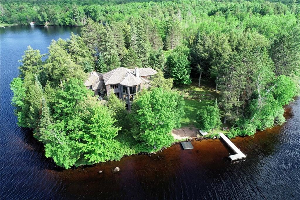 waterfront vacation home in cable, wi