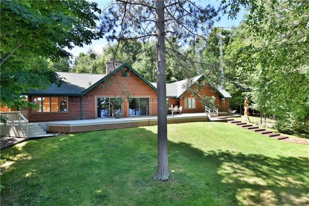 lake namekagon log cabin for sale