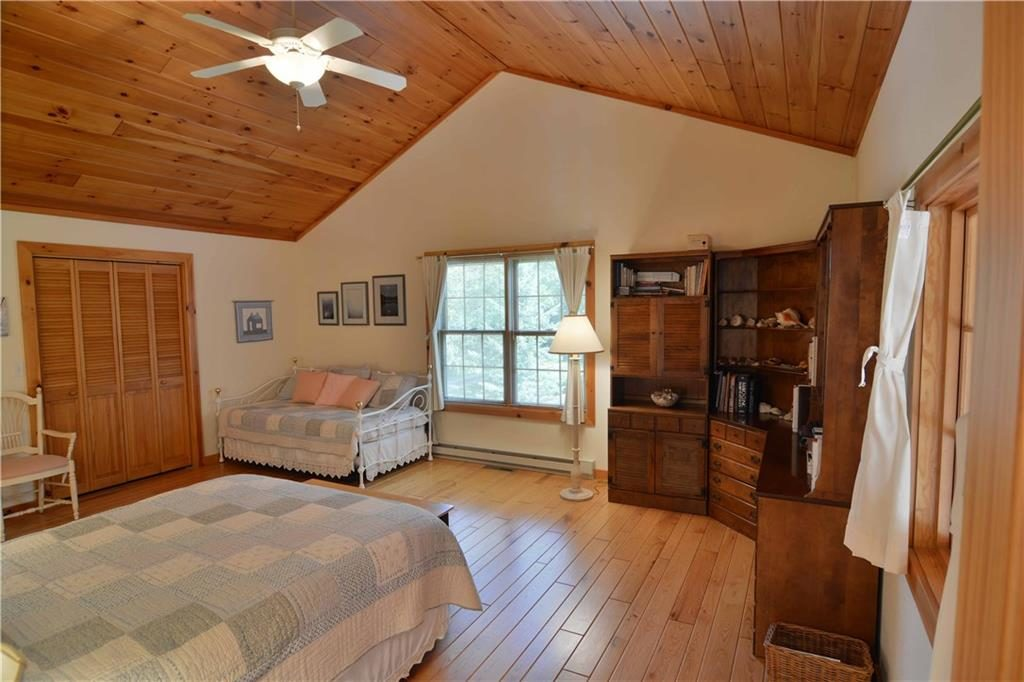 master bedroom in cable home for sale