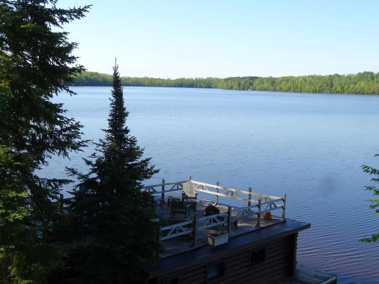 dazzling lake views from the boathouse rooftop deck
